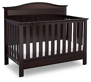 Delta Children Serta Barrett 4-in-1 Convertible Crib Set, , large
