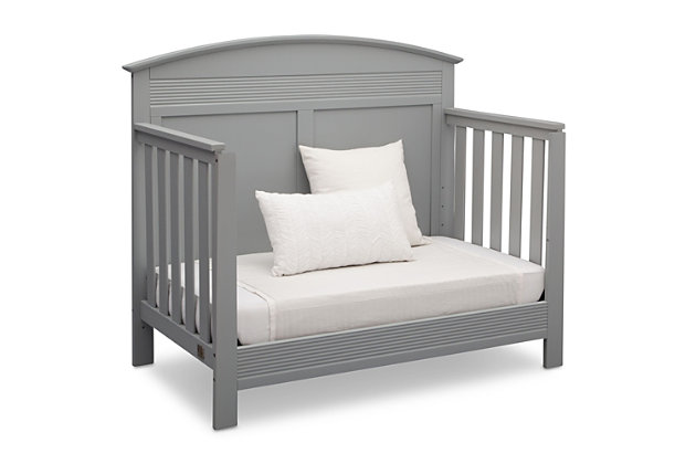 Delta Children Serta Ashland 4-in-1 Convertible Crib, Gray, large