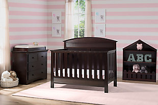 Delta Children Serta Ashland 4-in-1 Convertible Crib, , rollover