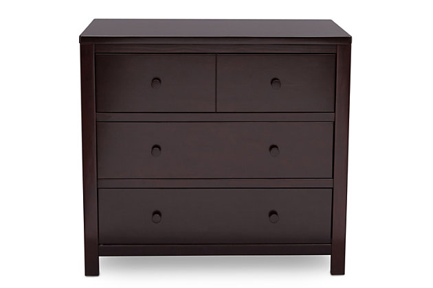 Delta Children 3 Drawer Dresser, , large