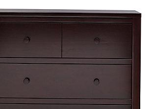 Delta Children 3 Drawer Dresser, Dark Chocolate, large