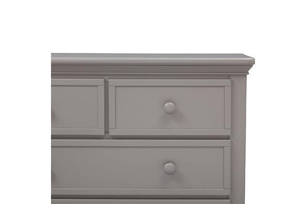 Delta Children Serta 4 Drawer Dresser, Gray, large