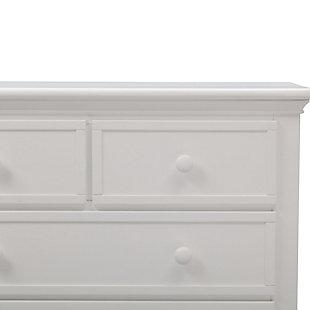 Delta Children Serta 4 Drawer Dresser, White, large