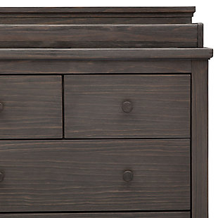 Delta Children Simmons Kids Paloma 4 Drawer Dresser with Changing Top, Rustic Gray, large
