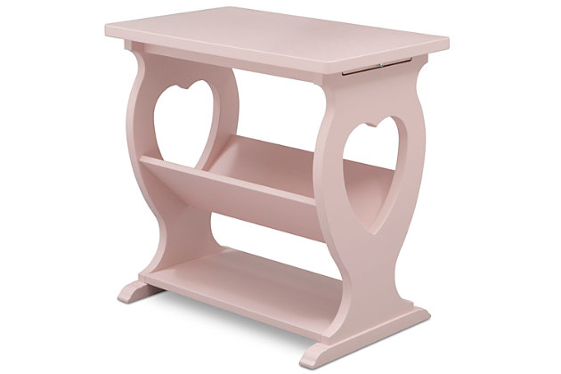Delta Children Canton Nursery Side Table, Lotus, large