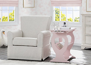 Delta Children Canton Nursery Side Table, Lotus, rollover