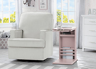Delta Children Nolan Nursery Side Table, Lotus, rollover