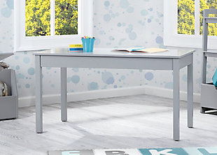 Delta Children Grow-with-me Convertible Kids Play Table, Gray, large