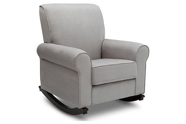 Delta Children Rowen Nursery Rocking Chair, , large