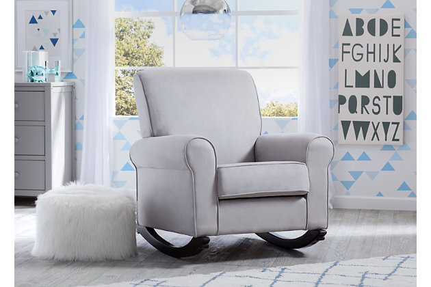 Delta Children Rowen Nursery Rocking Chair Ashley
