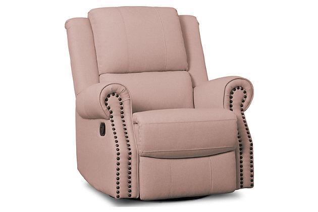 timeless design a9bb7 bbd50 Delta Children Dexter Nursery Recliner Swivel Glider Chair ...