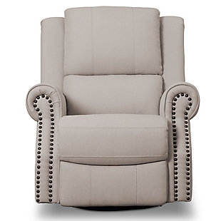 Delta Children Dexter Nursery Recliner Swivel Glider Chair, , large
