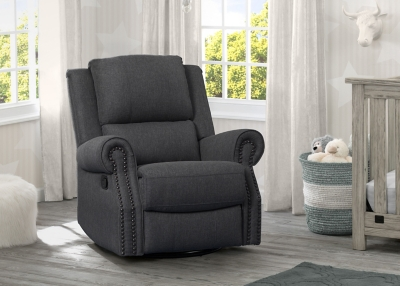 Delta Children Dexter Nursery Recliner Swivel Glider Chair