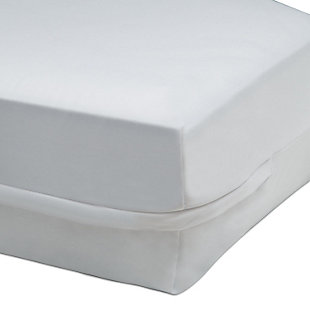 Delta Children Beautyrest KIDS Zippered Crib Mattress Encased Protector, , large
