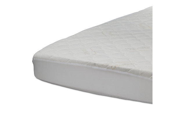 Delta Children ComforPedic Fitted Crib Mattress Protector with ThermoCool, , large