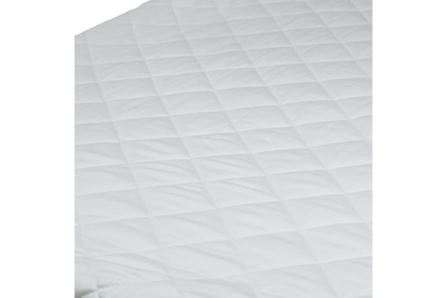 Delta Children Beautyrest Black Luxury Fitted Mattress Pad Cover, , large