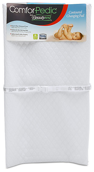 Delta Children Comforpedic From Beautyrest Waterproof Changing Pad, , large