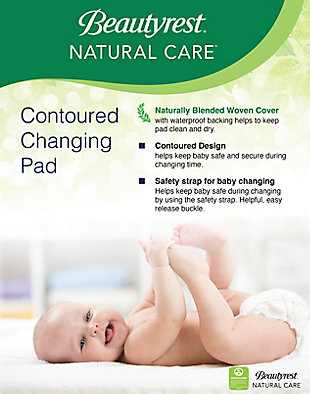 Delta Children Beautyrest Kids Natural Care Waterproof Changing Pad, , large
