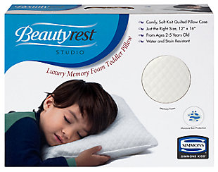 Delta Children Beautyrest KIDS Luxury Memory Foam Toddler Pillow, , rollover