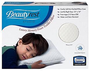 Delta Children Beautyrest Kids Luxury Memory Foam Toddler Pillow, , rollover