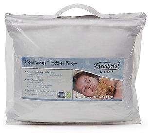 Delta Children Beautyrest Kids Comforzip Toddler Pillow, , rollover