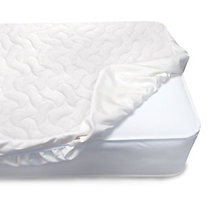 Delta Children Sertapedic Crib Mattress Pad Cover with Nanotex Stain Repel, , large