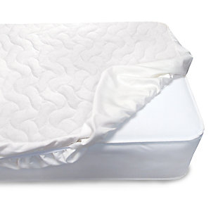 Delta Children Sertapedic Crib Mattress Pad Cover Withnanotex Stain Repel, , large