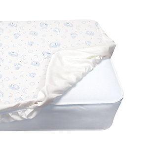Delta Children Serta Deluxe Quilted Fitted Crib Mattress Pad, , large
