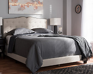 Vivienne Full Upholstered Bed, , rollover