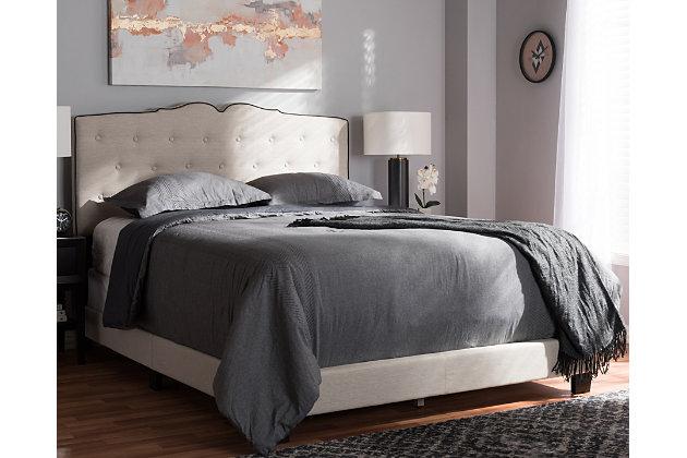 Vivienne Full Upholstered Bed, , large