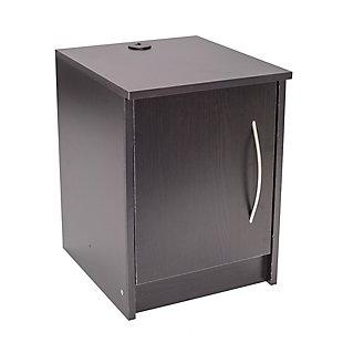 1 Door Nightstand, , large