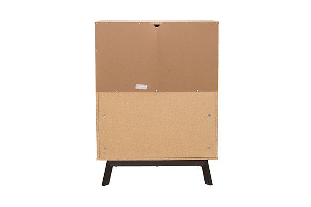 4 Drawer Dresser, , large