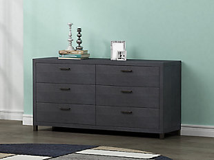 6 Drawer Chest, , large