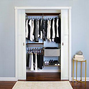 3 Piece Premium Small Closet Starter Kit