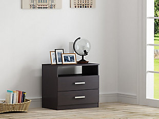 2 Drawer Nightstand, , rollover