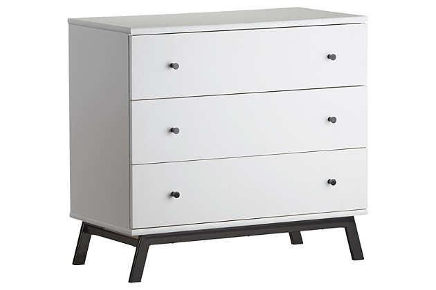 3 Drawer Rowan Valley Lark Urban Dresser, , large
