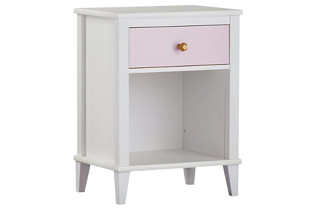 Two Tone Monarch Hill Poppy Nightstand, , large