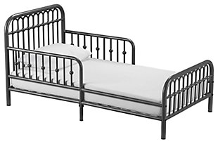 Metal Monarch Hill Ivy Gray Toddler Bed, , large