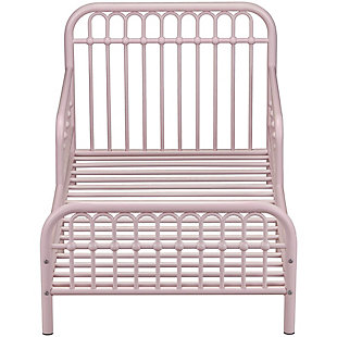 Metal Monarch Hill Ivy Pink Toddler Bed, , large