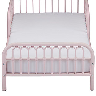 Metal Monarch Hill Ivy Pink Toddler Bed, Pink, large