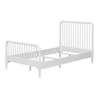 Wooden Rowan Valley Linden White Bed, , large