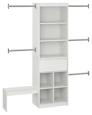 Organization Grow with Me White Closet, , large