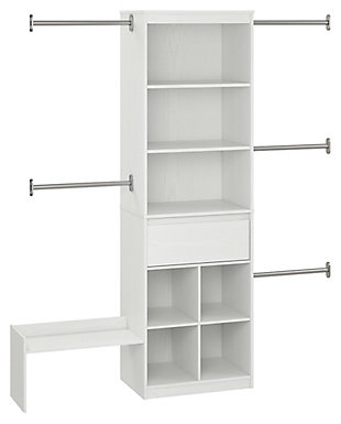 Organization Grow with Me White Closet, , rollover