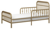 Metal Monarch Hill Ivy Gold Metal Toddler Bed, , large
