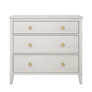 Woodgrain Finish Monarch Hill Poppy Ivory Oak Dresser, , rollover