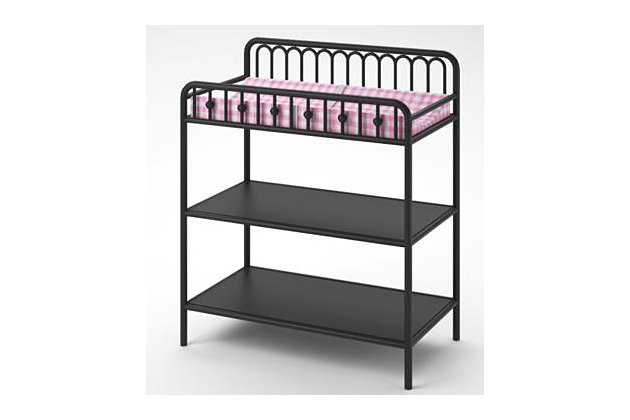 Little Seeds Monarch Hill Ivy Metal Changing Table, Bronze, large