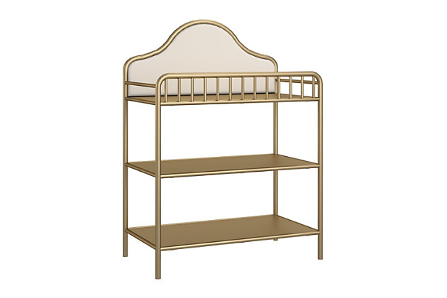 Little Seeds Piper Metal Changing Table, , large