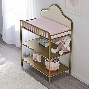Little Seeds Piper Metal Changing Table, , rollover