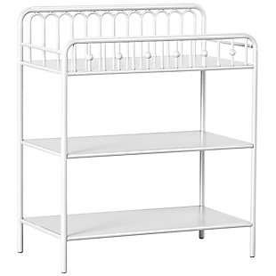 Little Seeds Monarch Hill Ivy Metal Changing Table, , large