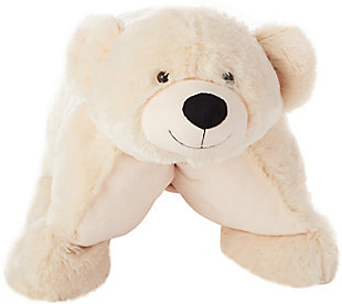 Kids Plush Bear Animal Pillow, , rollover